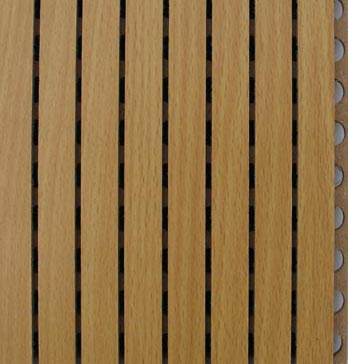 Grooved Wooden Acoustic Panels